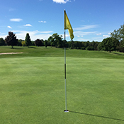 river ridge golf course hole 9